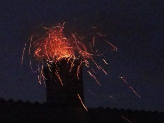 Symbolbild: Kaminbrand